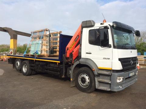 HIAB Crane Trucks for Hire Dublin, Kildare, Meath, Wicklow, Ireland