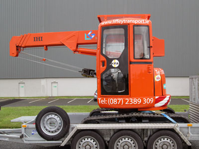 Crawler Crane, Pick & Carry Crane & Mini-Crane Hire